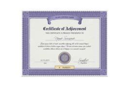 职业资格证书公证
